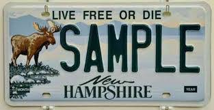 Free New Hampshire License Plate Lookup