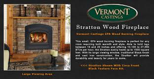 Vermont Castings Stratton Wood Burning Fireplace Adams Stove