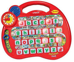 vtech smart alphabet picture desk vtech alphabet desk co uk toys