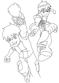Ben 10 Coloring Pages Free