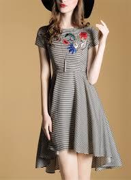 Front Neck Designs For Kurtis Cotton Evening Salwar Kameez Designer Embroidery Dress Apparel Women Clothes In