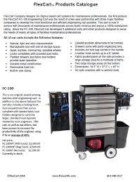 FlexCart Flex Cart LLC Brochures And Instruction Sheets