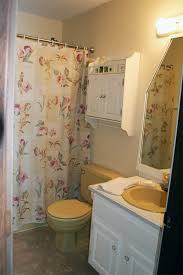 Paint Color For Bathroom With Almond Fixtures by Harvest Gold Bathroom Pick My Presto The Lettered Cottage