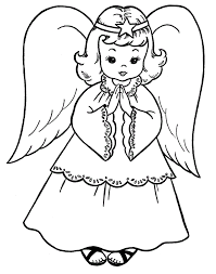 Full Size Of Coloring Pagecoloring Page Angel Color Pages Large Thumbnail