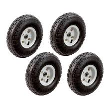 100 Hand Truck Tires Garden Cart Wagon Gorilla 10 In Wheels Replacement