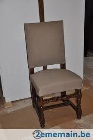 chaises louis xiii 8 chaises louis xiii en chêne a vendre 2ememain be