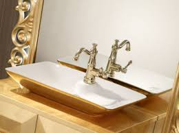 casa padrino luxus barock badezimmer set gold waschtisch mit waschbecken und wandspiegel prunkvolle badezimmermöbel im barockstil