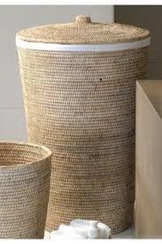rattan laundry basket by baolgi corbeille à linge rotin 2 tons