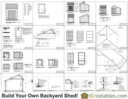 Saltbox Shed Plans 10x12 by 12x8 Salt Box Garage Door Shed Plans Motorcycle Garage