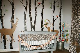 Woodland Crib Bedding Sets by Deer Crib Bedding Home Inspirations Design