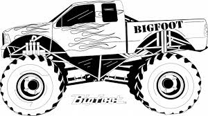 Monster Truck Coloring Sheet 2017 16230 Trucks At Jam Pages Printables