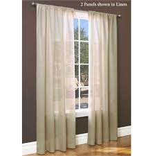 Jcpenney Brown Sheer Curtains by Revit Curtains Memsaheb Net