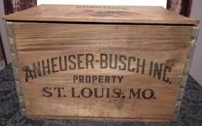 Vintage Wooden Beer Crates