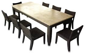 amazing of 8 seat outdoor dining set dining room furniture 8 seat