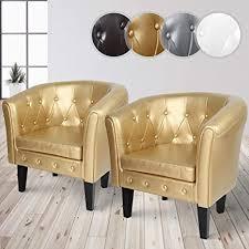 miadomodo chesterfield sessel aus holz und kunstleder mit kupfernieten und rautenmuster farbwahl 1er oder 2er loungesessel clubsessel