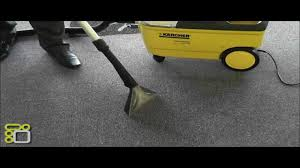 Karcher Floor Scrubber Attachment by Karcher Carpet Puzzi 100 Demonstration Youtube