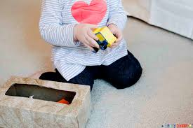 hidden toys baby activity busy toddler