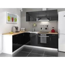meuble de cuisine noir laqué cuisine complete noir laque cuisine design prix cbel cuisines