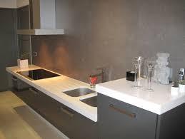 cuisine bois plan de travail noir plan de cuisine bois simple plan de travail en bton cir design