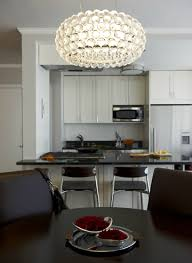 Contemporary Dining Room Chandelier Photo