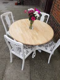 Rustic White Circular Shabby Chic Dining Table + 4 Vintage Queen Anne Style  Chairs. LOCAL DELIVERY   In Hammersmith, London   Gumtree Encarnacion Ding Chair Sold Out Henkel Harris Mahogany Queen Anne Chairs Set Of 6 Rustic Circular Farmhouse Shabby Chic Ding Table 4 Vintage Chairs Local Delivery In Hammersmith Ldon Gumtree Evolution Seven Piece With By Legacy Classic At Lindys Fniture Company Rooms Cherie Rose Collection Tone On Duncan Phyfe Painted Regency Table Suite Ebay Im So Doing This Someday To My Set Painted White Queen Anne Andersen Stauffer Makers Seating Pladelphia Lavinia Double Extension Double Extension 31m In Stock Room Cloth Homesfeed