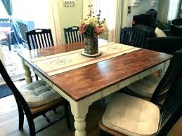 Dining Room Tables With Self Storing Leaves Table Leaf Farmhouse