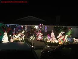 Christmas Tree Lane Fresno by Best Christmas Lights And Holiday Displays In Pleasanton Alameda