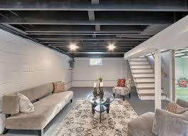 Best Drop Ceilings For Basement by Good Unfinished Basement Ceiling Ideas Jeffsbakery Basement