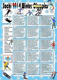Halloween Riddles Adults by Winter Olympics Riddles With Key Worksheet Free Esl Printable