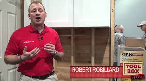 Grk Cabinet Screws Home Depot by Grk Structural Fasteners Youtube