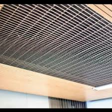 Rulon Wood Grille Ceiling by Panel Suspended Ceiling All Architecture And Design