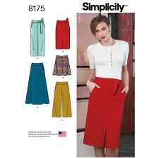 misses slim and flared skirts cropped trouser and tie belt