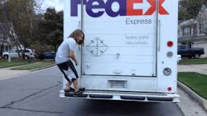 Kid Gets On Back Of FedEx Truck - YouTube Fedex Truck In Paris France Editorial Image Of Courier Wants The Us Government To Develop Selfdriving Laws Train Slams Through Truck In Dashcam Video Truck Trailer Transport Express Freight Logistic Diesel Mack Fedex On The Highway Photo Filemodec Lajpg Wikimedia Commons Driver Arrested For Duii Reckless Driving On Inrstate Driving Jobs Search For Length Trucks Sale 18ft P1000 Fedex Mag Paris France May 26 2015