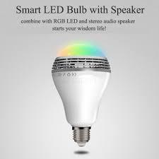S15 Smart Bulb Speaker Mini Speakers Bluetooth Portable 5 W E27