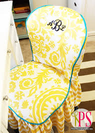 Armless Chair Slipcover Sewing Pattern by Office Chair Slipcover Tutorial And Slipcover Tips