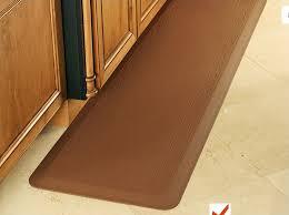 Padded Kitchen Floor Mats by Kitchen Gel Floor Mats Anti Fatigue Home Inside Mat Decor Gurus