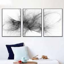 abstrakte triptychon wohnzimmer schlafzimmer esszimmer
