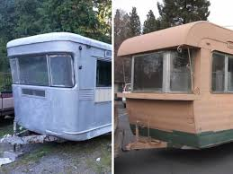 Restorable Vintage Travel Trailers