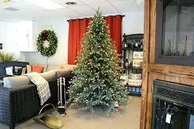 Pre Lit Rotating Christmas Tree Detail Artificial Trees Revolving