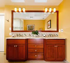 Delectable Contemporary Dining Room Cabinets Small 882018 On Cherry Vanity Mirror Bathroom With Dark Wood Door
