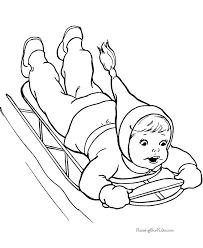 Fun Coloring Pages Of Kid