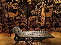 chaise jeanne chaise longue et paravent déco pour l appartement privé de la