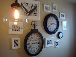 Ashley's Nest: PotteryBarn Inspired Clock Wall Pottery Barn Large Wall Clocks Ashleys Nest Potterybarn Inspired Clock Black Railway Regulator Ebth Union Station Au Rustic Pendant 16 Best Giant Images On Pinterest Wall Clock Just Photocopy 4 Diff Faces And Put Them Under A Glass Plate Oversized John Robinson House Decor Mount Digital Timer