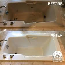 Bathtub Refinishing San Diego by Refinishing Tub And Tile Refinished Bathtub Cleaning Products