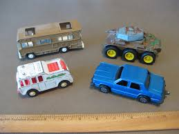 100 Tootsie Toy Fire Truck Toy Truck And Ford LTD And Tank And 70s