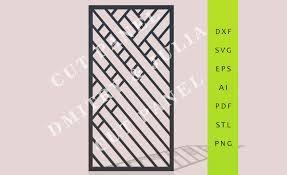 muirnir cut panel dxf svg eps ready to cut file cnc template