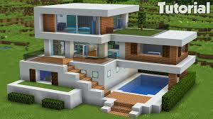 100 Modern House.com Minecraft How To Build A Large House Tutorial Easy 32 Interior In Desc Youtube