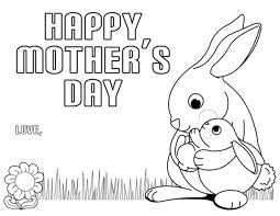 Free Printable Coloring Pages For Mothers Day
