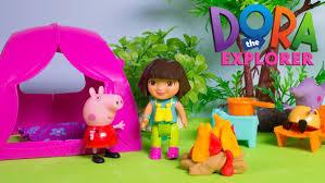 Dora The Explorer Fiesta Kitchen Set by Dora The Explorer Camping Playset Peppa Pig U0026 Dora Camping