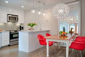 funky light fixtures kitchen contemporary with bell jar pendant